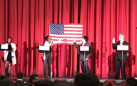 FLHS Students Participate in 2nd Annual Mock Election and Debate
