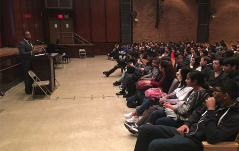Jarrett Adams Inspires Hope and Justice at Francis Lewis High School