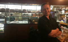 Chef Maria Petridis at her restaurant Maria's Mediterranean Seafood and Grill in Bayside, Queens.