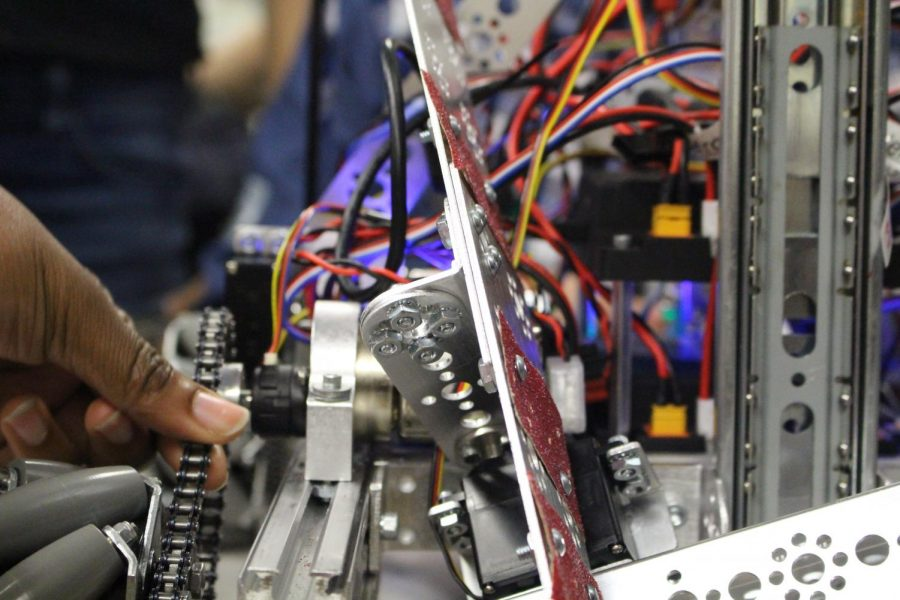 Building for The Future: Francis Lewis Hosts Robotics Competition