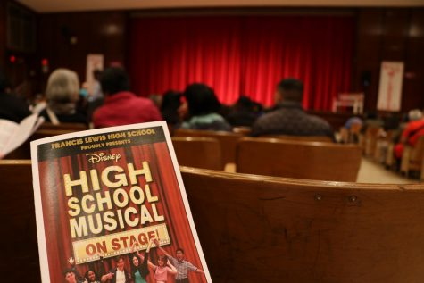 "Aiming for the Spotlight: Students Audition for ""High School Musical"""