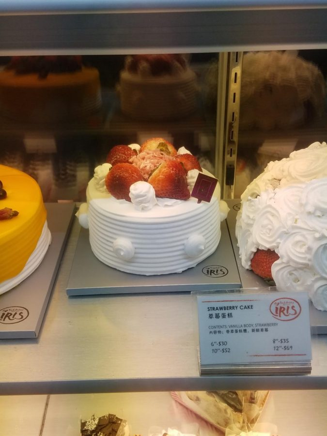 A classic but very good strawberry cake made in the Iris kitchen. The cake reminds you of a fluffy cloud.