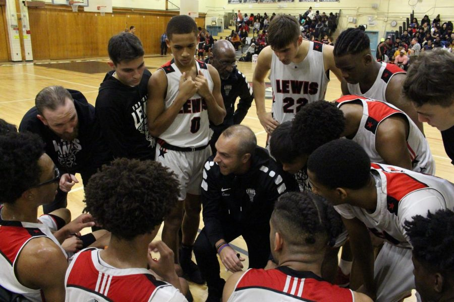 Varsity Basketball Team.