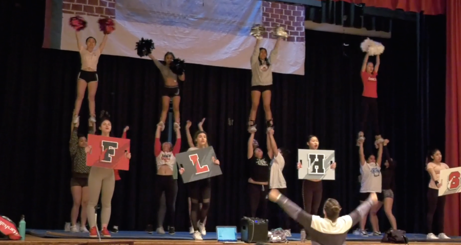 FLHS Cheerleaders Head to Internationals