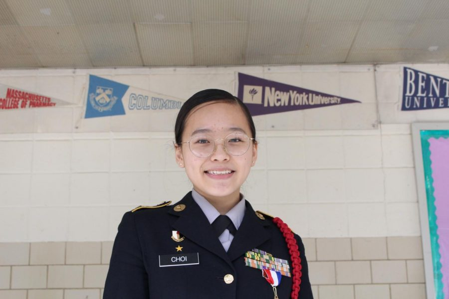 """Leadership, discipline, and responsibility are the three lessons from joining JROTC. Having the ability to lead people and gaining obedience is the most important things I have learned from high school so far and it has helped me so much academically and in my social life as well."""