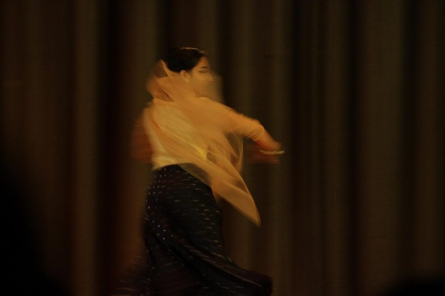 Junior Shagota Dasgupta displayed  her culture through her dance. She won first place with a grand prize of $250.