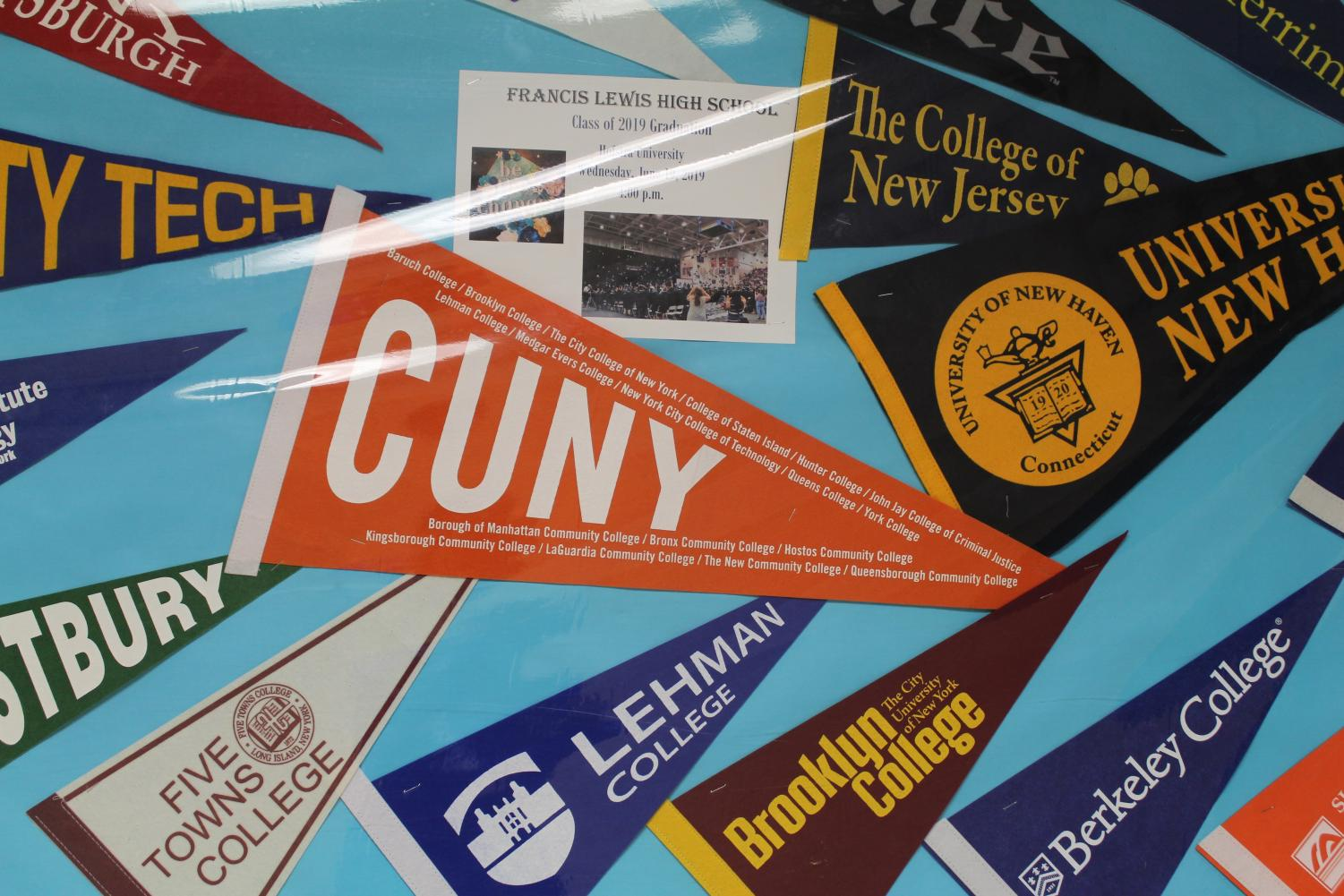 Lehman, Brooklyn, and Berkeley are one of the few colleges seniors are applying to go to college.