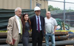 Francis Lewis Holds Ground Breaking for New Annex