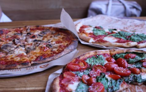 You can get a variety of different toppings at Blaze Pizza.