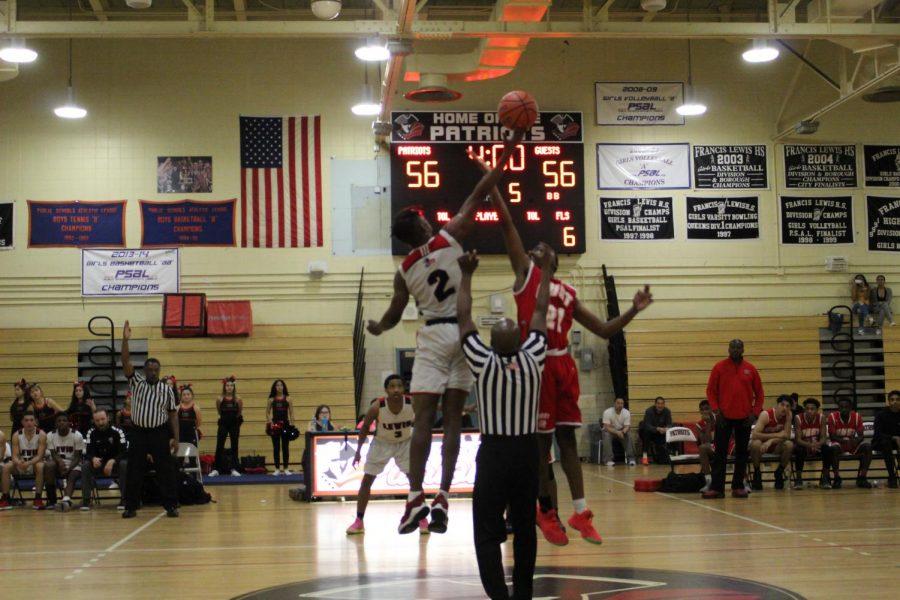 Boys' Varsity Basketball Wins In Overtime