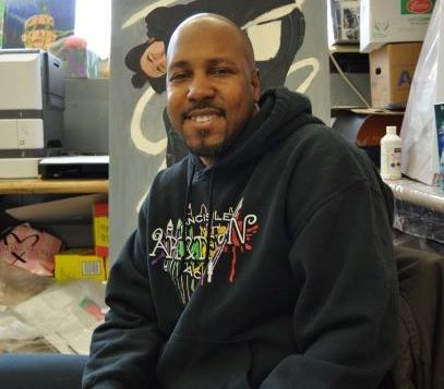 """I have around 7-8 students per year that go into art school,"" Mr. Mason said.  ""I've been teaching Art & Design here in this school for about 10 years, so that's 80 students alone, not including me teaching outside of school."""