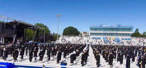 The 2021 Francis Lewis High School graduation at Hofstra University